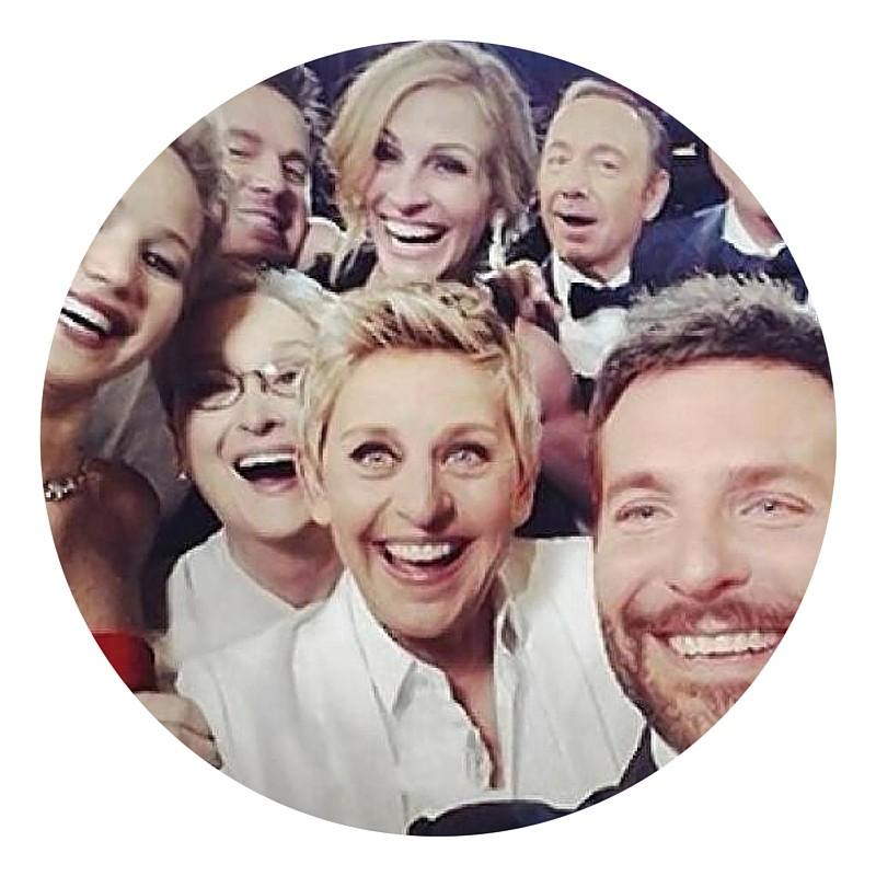 Ellen's selfie